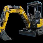 Gehl Z17 GEN: 2 Compact Excavator Rental at Hendershot Equipment in Stephenville & Decatur, near Fort Worth, TX