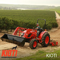 KIOTI Tractors at Hendershot Equipment