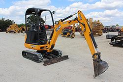 Rental JCB 8018 mini excavator thumbnail