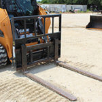Pallet Forks Rental at Hendershot Equipment in Stephenville & Decatur, near Fort Worth, TX