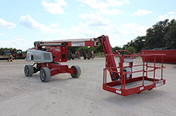 MEC 60J Boom Lift rental at Hendershot Equipment in Stephenville & Decatur, near Fort Worth, TX