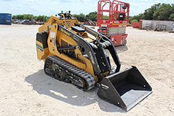 Vermeer S725TX Mini Skid Steer Rental at Hendershot Equipment in Stephenville & Decatur, near Fort Worth, TX