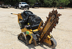 Vermeer RTX150 Walk-Behind Tracked Trencher Rental at Hendershot Equipment in Decatur & Stephenville, near Fort Worth, TX