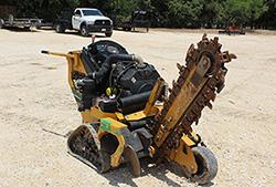 Vermeer RTX150 Walk-Behind Tracked Trencher Rental at Hendershot Equipment in Decatur & Stephenville, near Fort Worth, TX