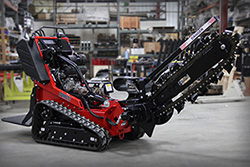 Barreto Stand-on Track Trencher Rental at Hendershot Equipment in Decatur & Stephenville, near Fort Worth, TX