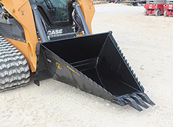 Stump Bucket Xtreme Duty Attachment for sale at Hendershot Equipment in Decatur & Stephenville, TX near Fort Worth, TX.