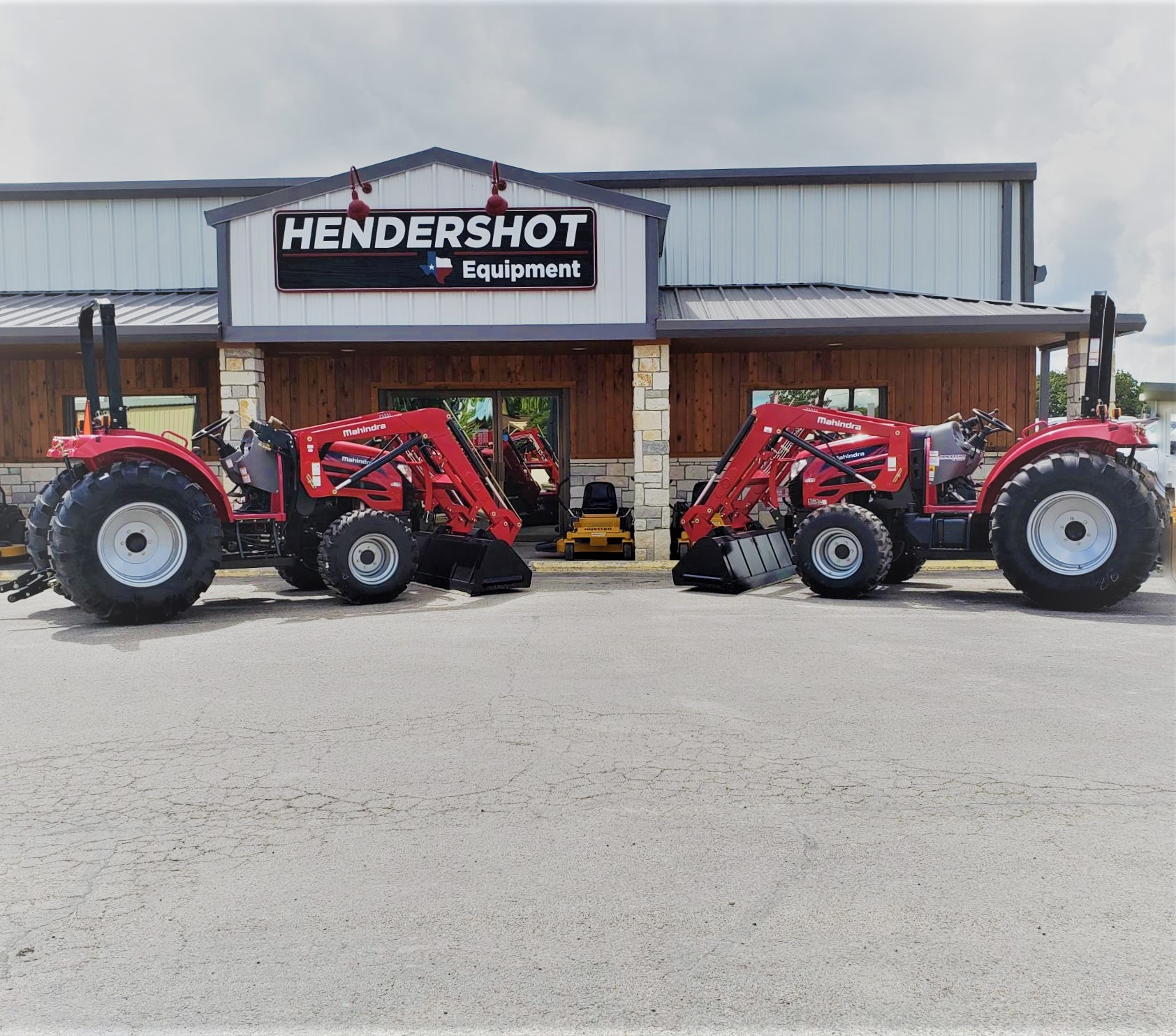 Mahindra Tractors for sale at Hendershot Equipment. In Stephenville, Texas. Near Tolar, Granbury, Dublin, Comanche, Glen Roase and Hico, Texas.
