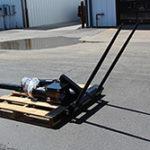 PIERCE Gooseneck Hydraulic Bale Spike for sale at Hendershot Equipment in Decatur & Stephenville, TX near Fort Worth, TX.