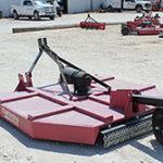 Mahindra 6' Shredder for sale at Hendershot Equipment in Decatur & Stephenville, near Fort Worth, Texas