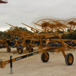 Vermeer Wheel Rake 021562 for sale at Hendershot Equipment in Decatur & Stephenville, TX. Hay balers for sale near Burleson, Glen Rose, Hamilton, TX.