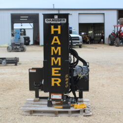 Danuser Hammer SM40 Post Driver for sale at Hendershot Equipment in Decatur & Stephenville, TX near Fort Worth, TX.