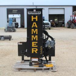 Danuser Hammer SM40 Post Driver for sale at Hendershot Equipment in Decatur & Stephenville, TX near Fort Worth, TX.