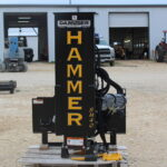 SM40 Post Driver # at Hendershot Equipment in Decatur and Stephenville, Texas. Post Drivers near near Granbury, Glen Rose, Hamilton, and Tolar, TX.