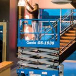 Genie GS-1930 Scissor Lift Rental at Hendershot Equipment in Decatur & Stephenville, TX near Bowie, Springtown, Granbury, Hico & Dublin, TX