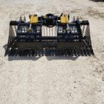 """CAI Xtreme Duty 73"""" Skeleton Bucket with Rock Grapple for sale at Hendershot Equipment in Decatur & Stephenville, TX near Fort Worth, TX."""