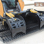 """CAI Xtreme Duty 82"""" Skeleton Bucket with Rock Grapple for sale at Hendershot Equipment in Stephenville & Decatur, near Fort Worth, TX"""