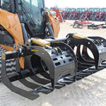 """CAI Worx Duty 84"""" Root Grapple at Hendershot Equipment in Decatur & Stephenville, TX near Fort Worth, TX. CAI Worx Duty attachments for sale."""
