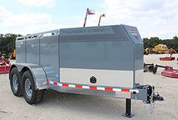 Thunder Creek 690 Multi-Tank Fuel Trailer for sale at Hendershot Equipment in Decatur & Stephenville, TX near Fort Worth, TX.
