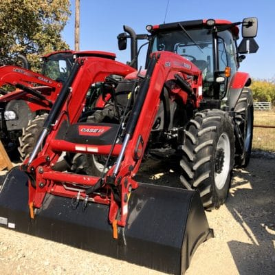 CASE IH Maxxum 135 for sale At Hendershot Equipment in Decatur and Stephenville, near Fort Worth, Texas