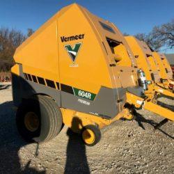 Vermeer 604R Premium Round Baler for sale at Hendershot Equipment in Stephenville & Decatur, near Fort Worth, TX