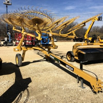 Vermeer VR1224 Wheel Rake for sale at Hendershot Equipment in Stephenville & Decatur, near Fort Worth, TX