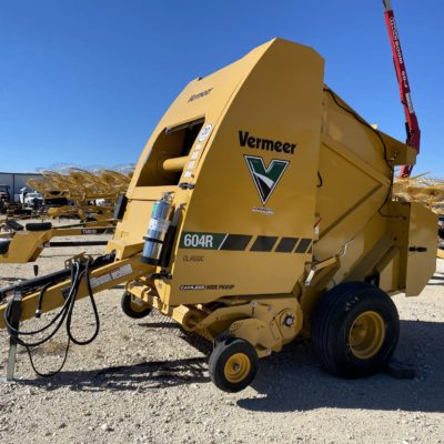 Vermeer 604R Classic Round Baler for sale at Hendershot Equipment in Stephenville & Decatur, TX near Fort Worth, TX