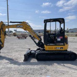 JCB 48Z Mini Excavator for sale at Hendershot Equipment in Decatur & Stephenville, Texas. Shop preowned equipment online.
