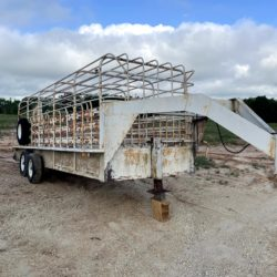 Used Brutus 6'X20' Cattle Trailer for sale at Hendershot Equipment in Stephenville & Decatur, TX