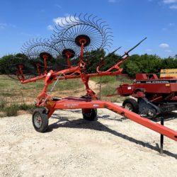 Kuhn SR 112 GII Wheel Rake for sale at Hendershot Equipment in Stephenville & Decatur, near Fort Worth, TX